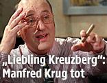 Manfred Krug im Jahr 1997