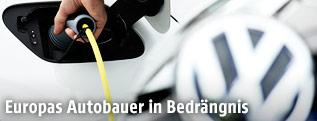 VW e-Golf wird geladen