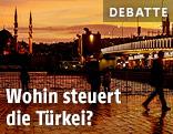 Menschen in Istanbul