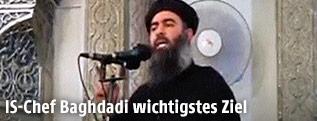 IS-Führer Abu Bakr al-Baghdadi