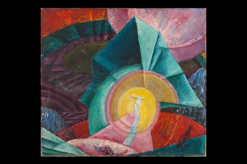Grete Wolf-Krakauer: Ohne Titel (Komposition II)