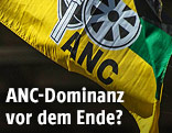 ANC-Logo auf einer Fahne