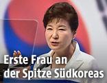 Südkoreanische Präsidentin Park Geun-hye
