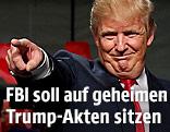 Republikaner Donald Trump bei Wahlkampfveranstaltung