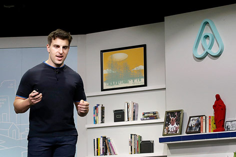 Airbnb-CEO Brian Chesky