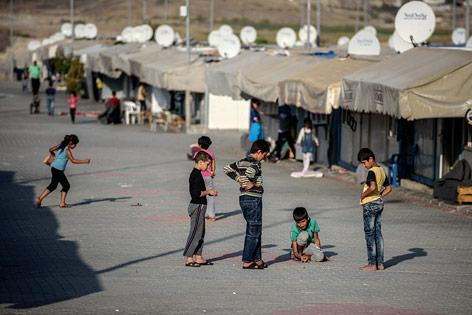 Flüchtlingscamp in der Türkei