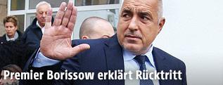 Der bulgarische Premier Bojko Borissow