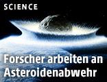 Künstlerische Darstellung eines Asteroideneinschlags der NASA