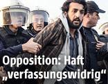 Verhaftung eines Demonstranten in Istanbul