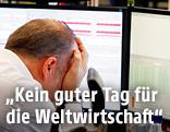 Broker an Frankfurter Börse