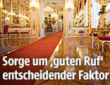 Details aus den Innenräumen der Präsidentschaftskanzlei in der Wiener Hofburg