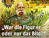 Postkarte zeigt Portrait von Kaiser Franz Josef I.