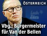 Lecher Bürgermeister Ludwig Muxel