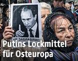 Pro-russische Demonstranten in Bulgarien