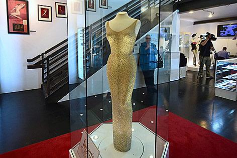 Kleid von Marlilyn Monroe