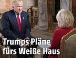 Donald Trump im CBS-Interview