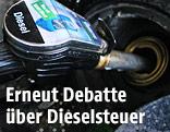 Dieselzapfhahn