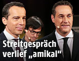 Christian Kern und Heinz-Christian Strache