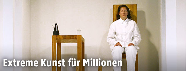 """Marina Abramovic in """"The House with the Ocean View"""""""