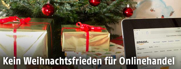 Ipad und Weihnachtspakete