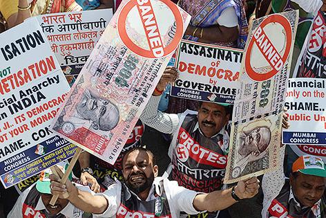 Proteste in Mumbai