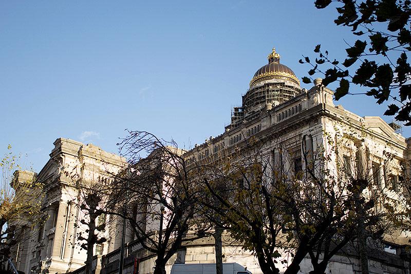 Gebäude in Brüssel