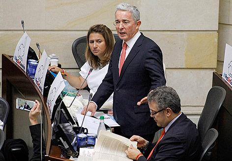 Senator Alvaro Uribe