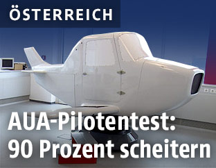 """Pilot Instrument Trainer"" im AUA-Trainingscenter in Schwechat"