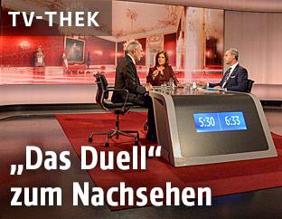 Fernsehkonfrontation der Präsidentschaftskandidaten Norbert Hofer und Alexander Van der Bellen