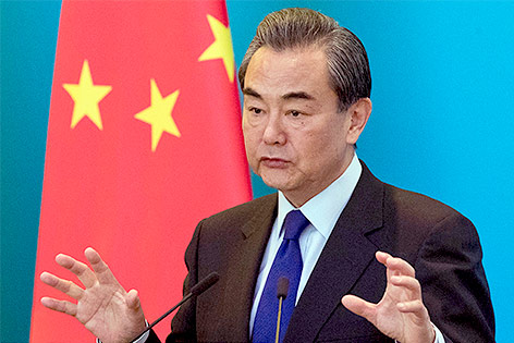 Chinesicher Außenminister Wang Yi