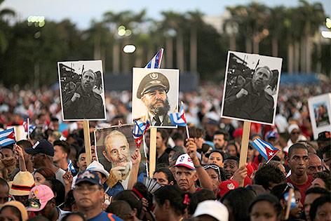 Trauerfeier für Fidel Castro in Santiago de Cuba
