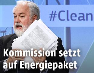 EU-Energiekommissar Miguel Arias Canete