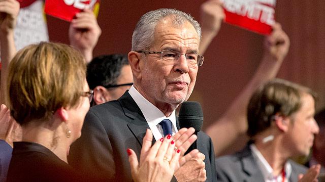 Neuer Bundespräsident Van der Bellen