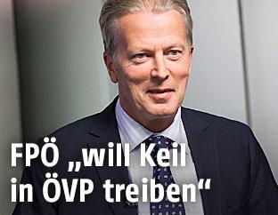 Vizekanzler und ÖVP-Chef Reinhold Mitterlehner