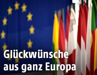 Flaggen europäische Länder