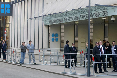 Eingang zum OPEC-Gebäude