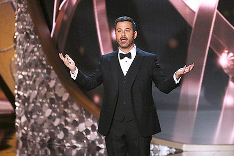 US-Moderator Jimmy Kimmel