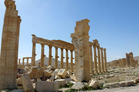 Ruinen in Palmyra