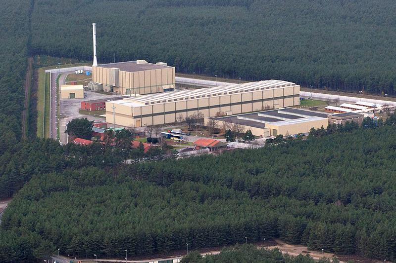 Atommüllzwischenlager Gorleben in Deutschland