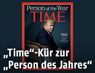 Donald Trump am Cover des Time Magazine