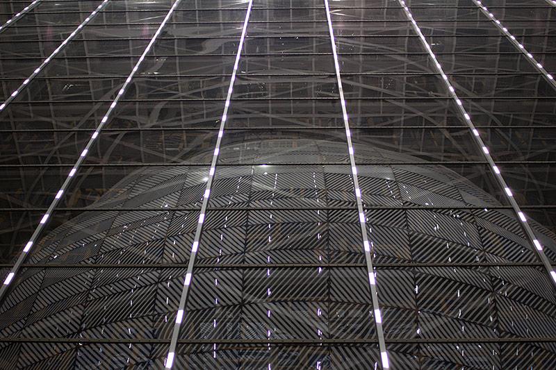 Aufnahme aus dem neuen Ratsgebäude in Brüssel