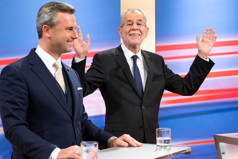 Der Gewinner der Präsidentschaftswahl, Alexander Van der Bellen