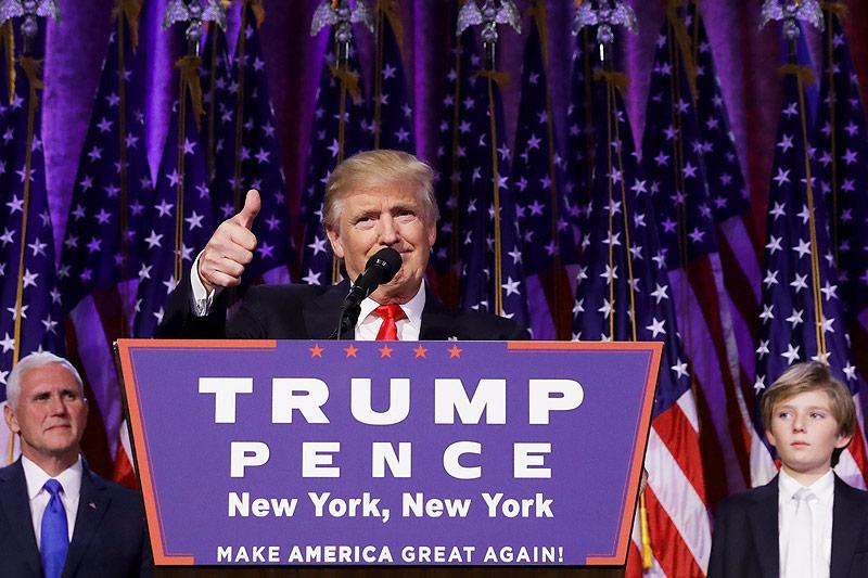 Der designierte US-Präsident Donald Trump