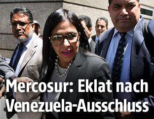 Die venezolanische Außenministerin Delcy Rodriguez