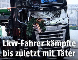 Lkw mit dem der Anschlag verübt wurde