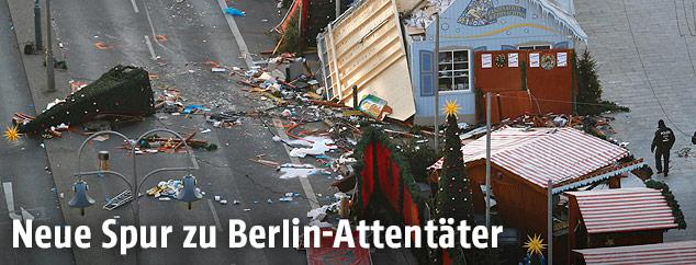 Anschlagsort auf Berliner Weihnachtsmarkt