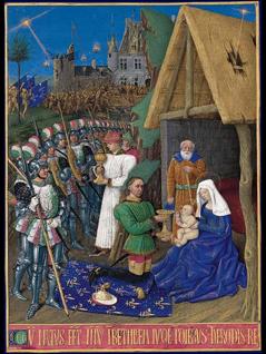 Jean Fouquet Die Anbetung der Magier
