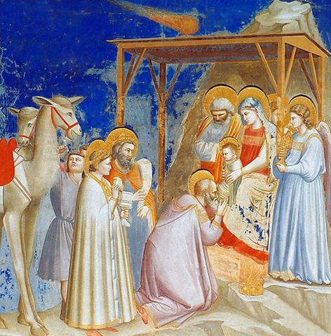 Giotto Anbetung der Heiligen Drei Könige