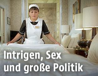 Zimmermädchen im Hotel Sacher