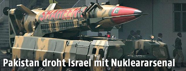 Pakistanische Nuklearrakete